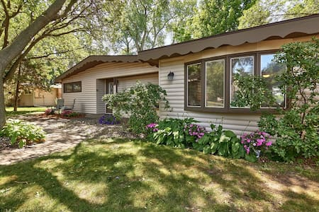 Remodeled lakefront cottage - Minneapolis - Haus