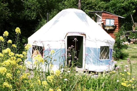 Fairy Fort Yurt @ Inch Hideaway, Eco Camp