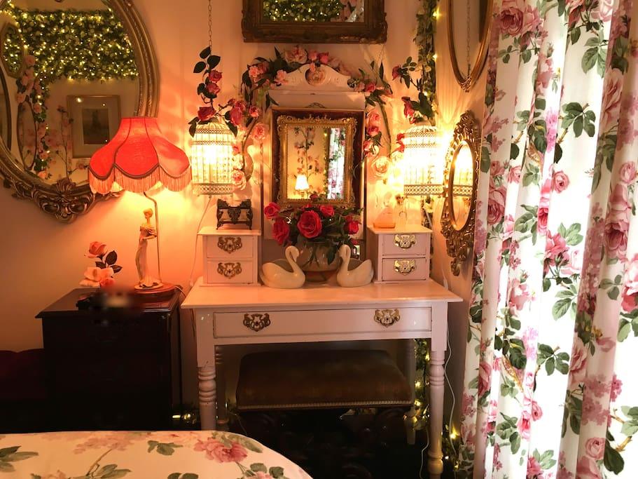 The Secret Garden guest room