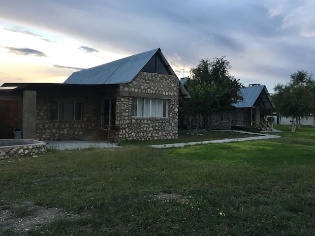 Private Bungalow on farm near Etosha National Park