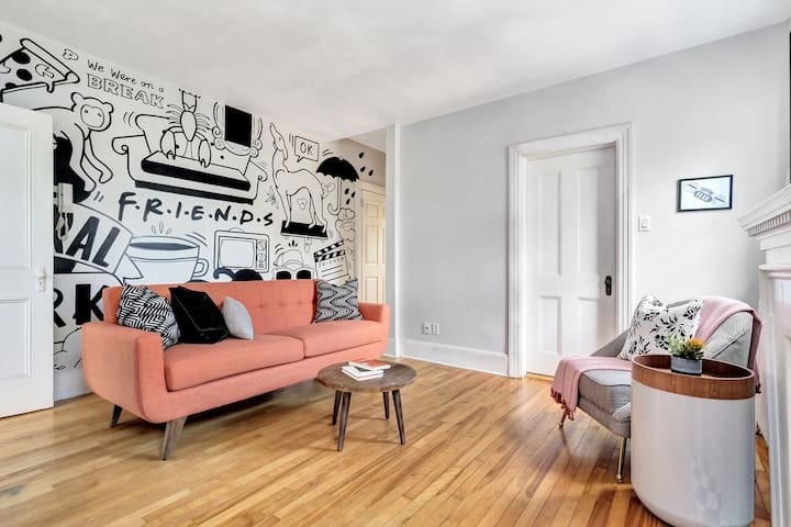 FRIENDS TV Show Inspired Home- Centretown