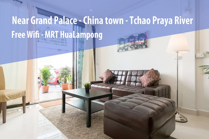 Entire and Cozy House 4Bedroom HuaLampong ★★★★★