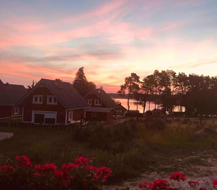 Haus Leonore, Boot inklusive, Sauna, See, Natur