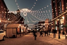 Distillery Historic District (Christmas Market)