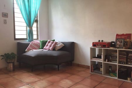 Habitación privada con terraza en San Pedro G.G. - San Pedro Garza García