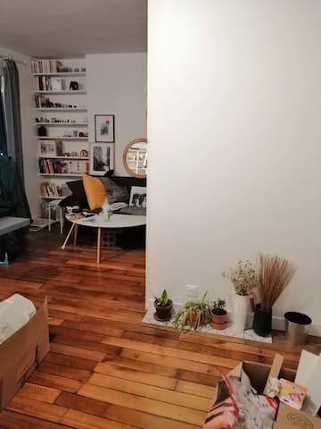 Appartement cozy, Père Lachaise