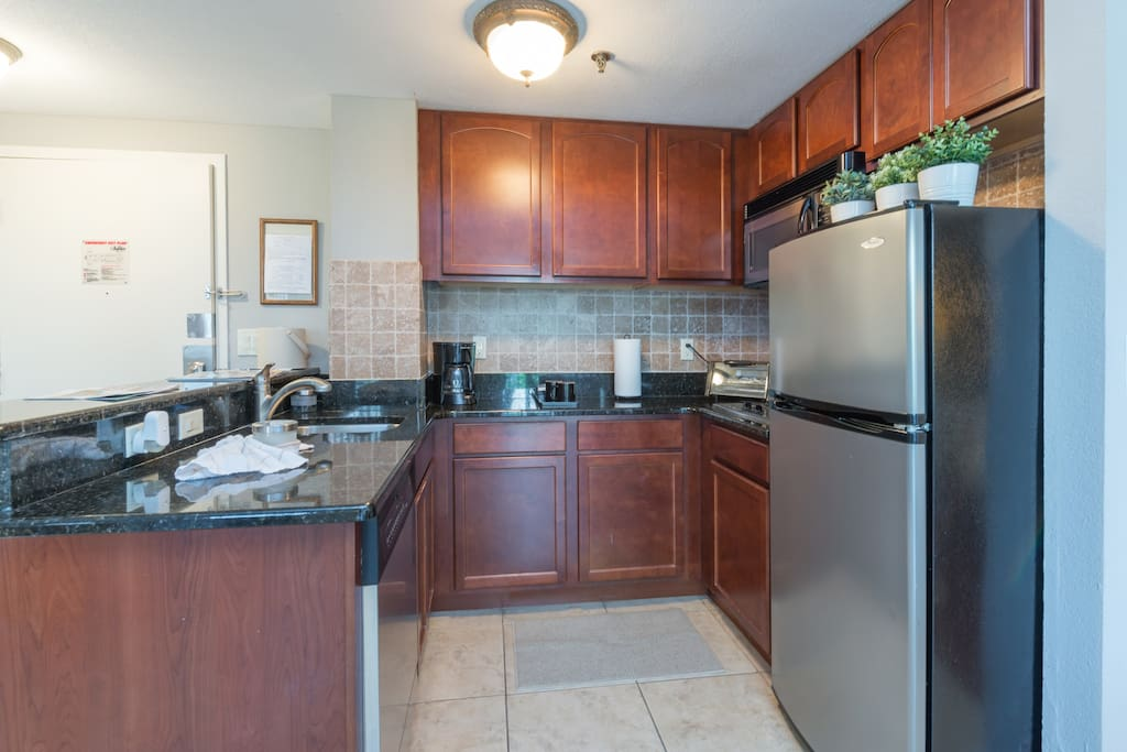 Full granite kitchen with Stainless Steel appliances