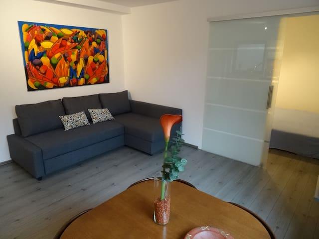 Ruhige Souterrain Wohnung in Fun-Park Nähe - Zirndorf - Apartment
