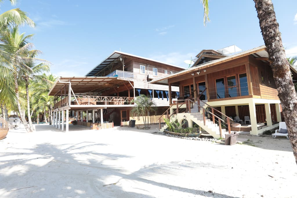 View from Front of House - Next to Restaurant Club House