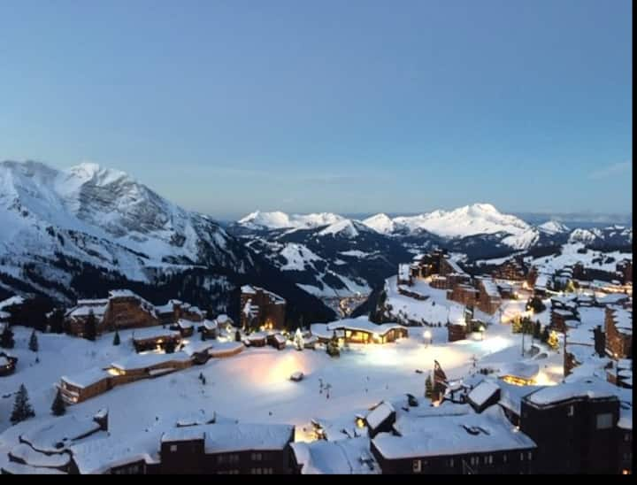 Apartment for 8 pers 50m2 Avoriaz