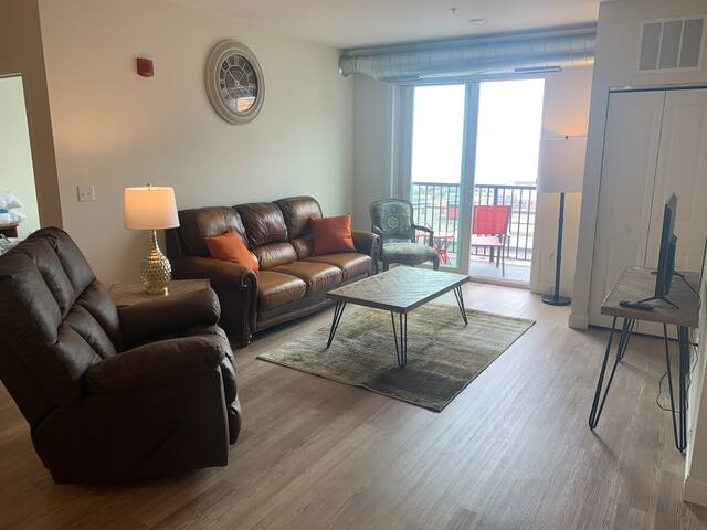 Tower Suite 2 bedroom apartment in Downtown