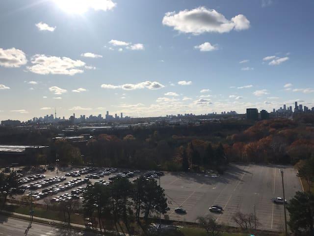 1 bedroom loft Toronto's best view