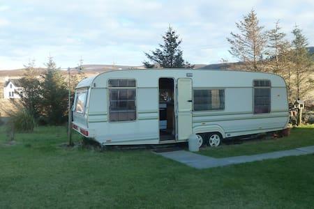 Self Catering, Caravan,  Kilmuir, Isle of Skye, - Bornisketaig