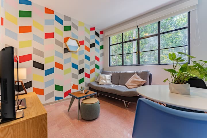 COMFY Loft GREAT DESIGN perfect location @Narvarte