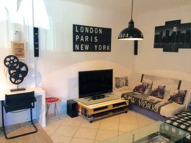 Superbe appart entre ville et mer - Perpignan - Apartment
