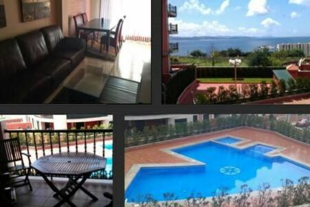 Sanxenxo, wifi, terraza vistas mar, ideal familias - Sanxenxo Galicia, ES - Appartamento