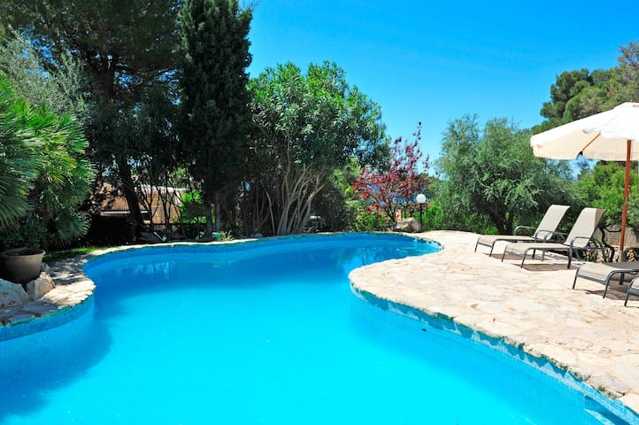 Casa Paquita, preciosa villa entre pinos  mar - Son Servera - Villa