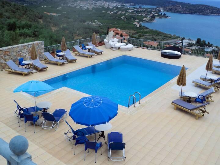 Superior Apartment Epidavros Panoramic View[40 m²]