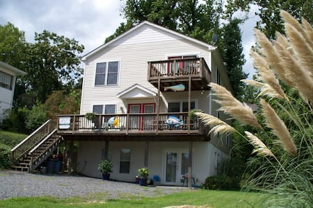 Furnished Vacation Rental - Block from the beach!!