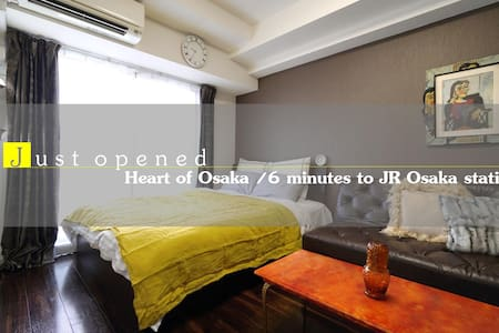 Cozy flat close to JR Osaka sta (6mins on foot) - Kita Ward, Osaka