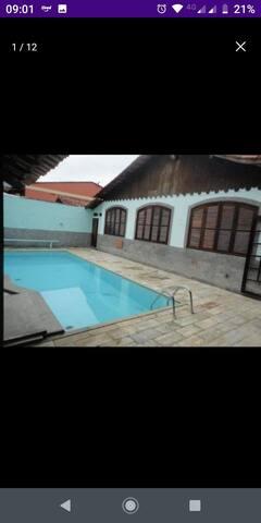 Casa alto padrão piscina