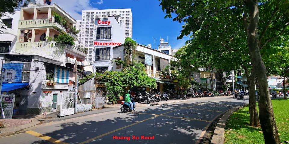 ❆ Cozy Riverview ❆ hidden in the ❤ of Saigon