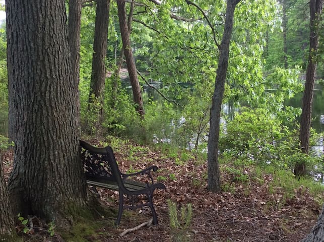 Another little secret spot to discover on the property....