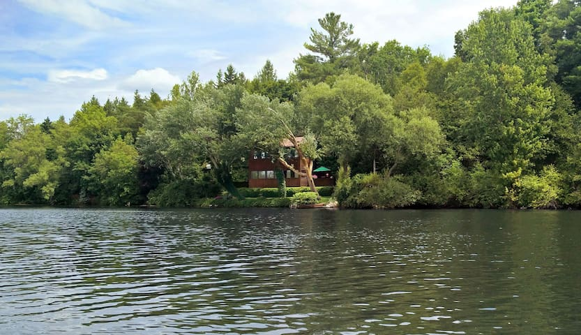Otonabee River Cottage: Your secluded getaway - Peterborough - Blockhütte
