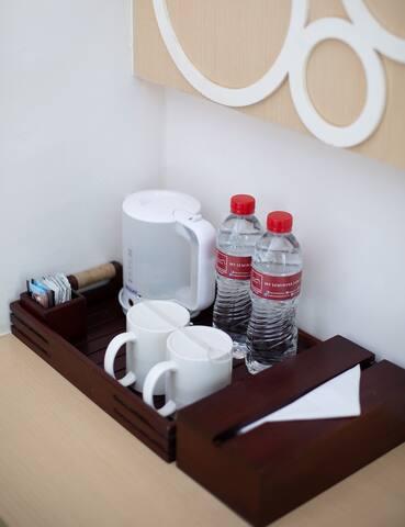 coffee or tea at room