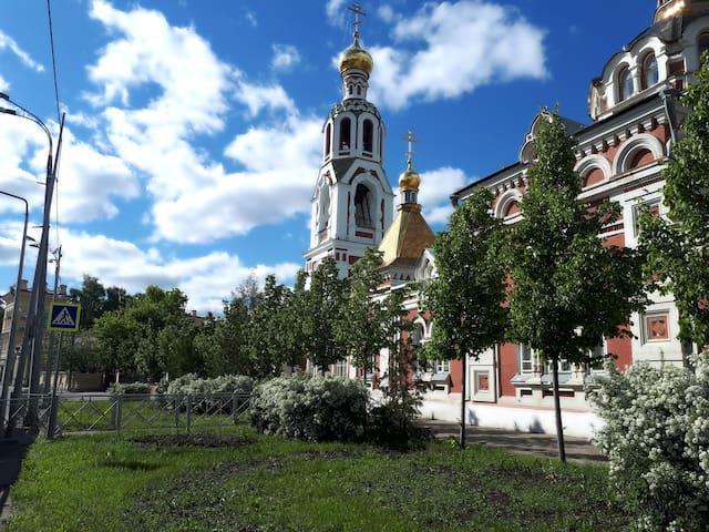 Исторический центр Казани, уникальная атмосфера