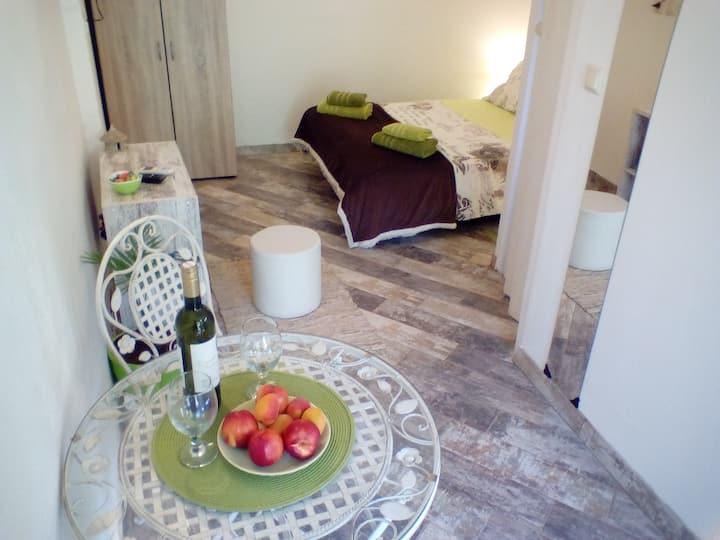 Cherry studio apartment
