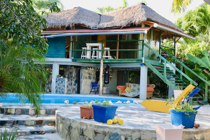 Tropical guest house and free kite class-Cabarete