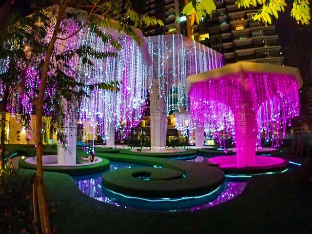 Chilling in Floating Fantasy Garden