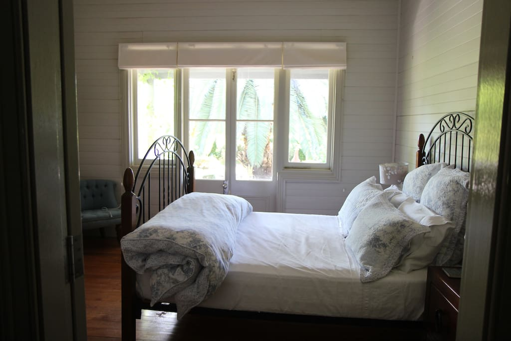 The 'Courtyard' a lovely private bedroom with double size bed, wardrobe and drawers
