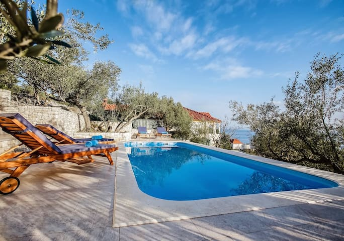 Luxury Villa My Korcula with pool at the beach - Prigradica - Villa