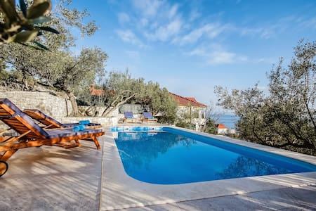 Luxury Villa My Korcula with pool at the beach - Prigradica