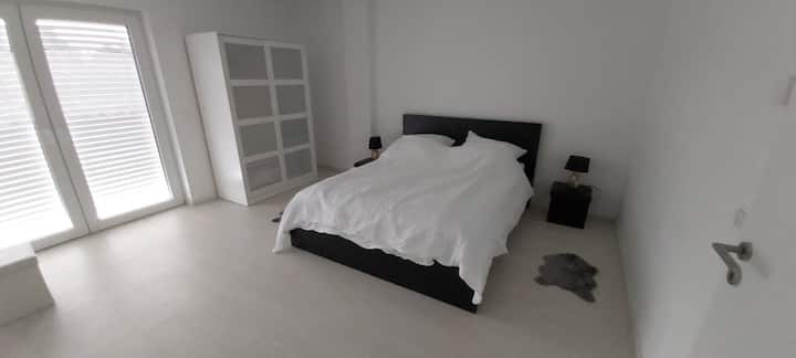 2 new modern bedrooms  with 3 beds suits 4 people