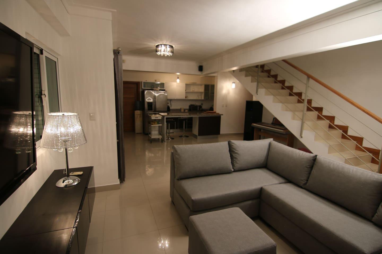 Habitacion Privada: Penthouse en pleno centro de la ciudad de Santo Domingo