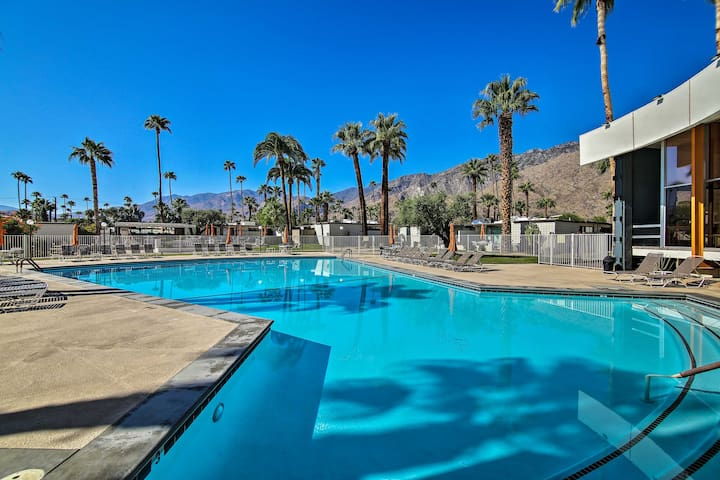 NEW! Palm Springs Contemporary Condo w/Pool + Gym