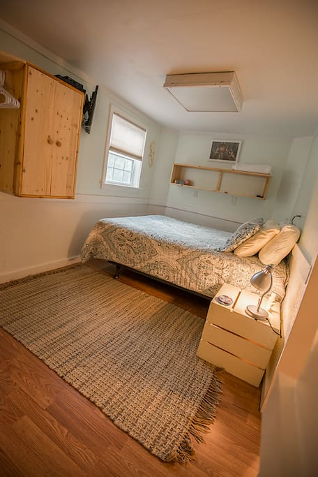 Private Bedroom with TV, cable and dvd player.