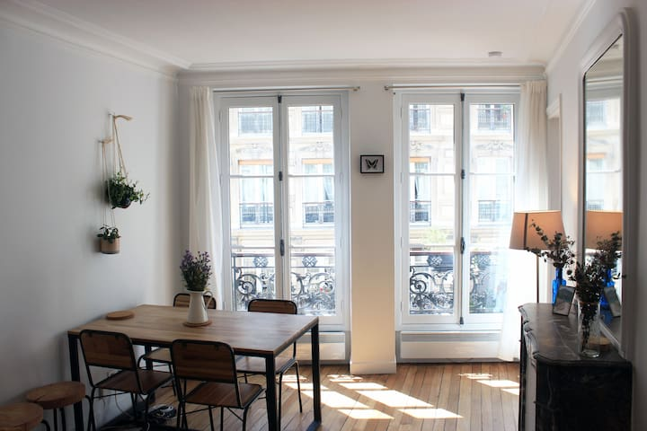 Cosy Modern flat near Montmartre and Moulin Rouge