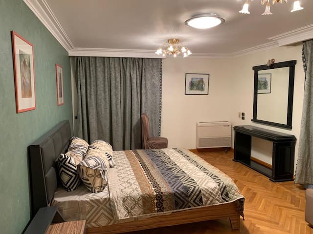 specious apartment in Mohandseen heart of cairo.