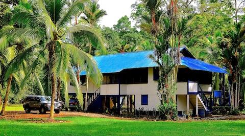 17-Person Caribbean Plantation House