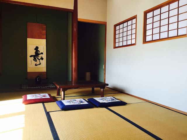 Japanese house with 3rooms,10mins from station. - Higashi-ku, Fukuoka-shi - Hus
