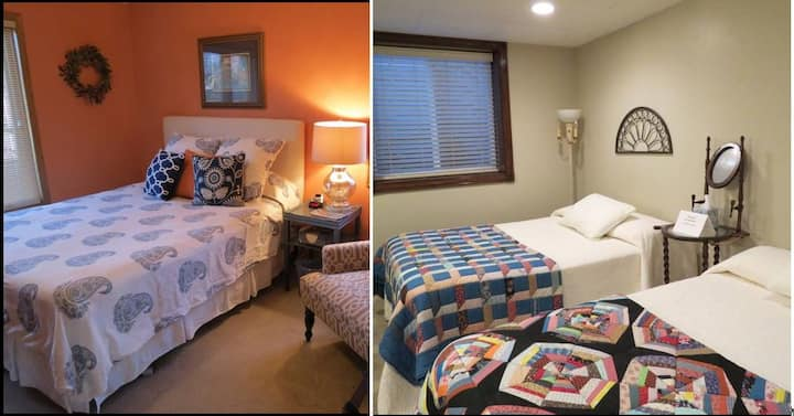 Comfy Appleton Location, 2 Guest Rooms, 3 beds
