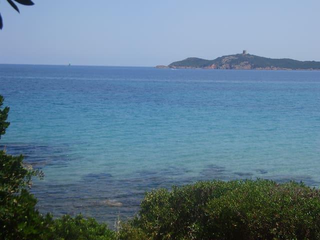 Villa F4 vue golfe Pinarello-2mn à pied de la mer - Zonza - Casa