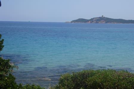 Villa F4 vue golfe Pinarello-2mn à pied de la mer - Zonza