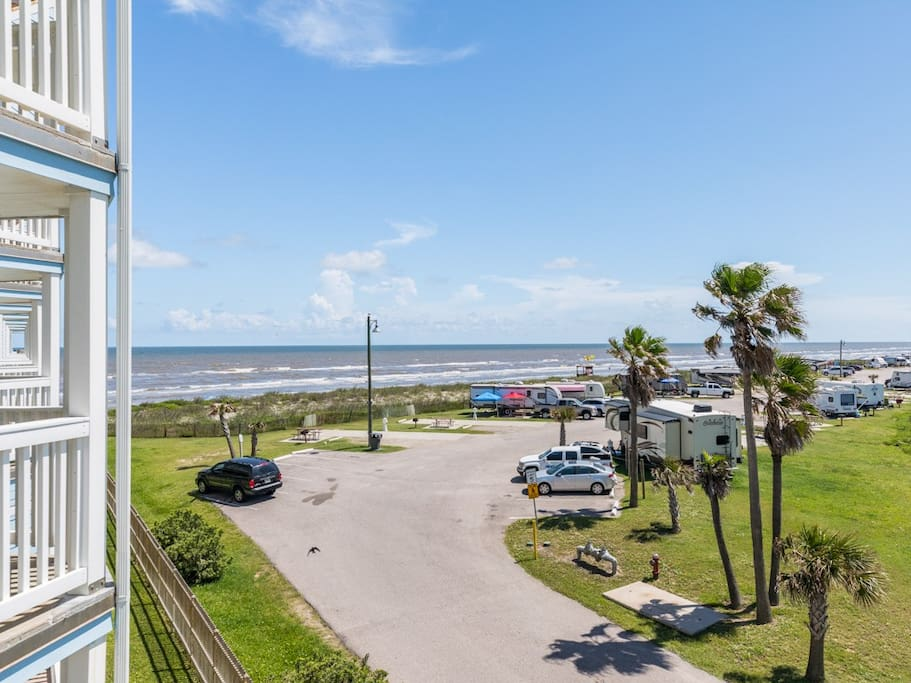 Located in the beachfront community of SeaScape, your rental has direct beach access.