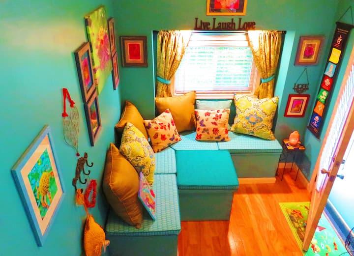 Zen Garden Art Studio Tiny Home