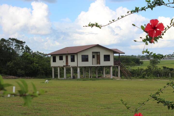 Breezy Mennonite Home overlooking Farming Comunity